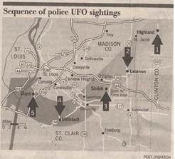 My UFO path