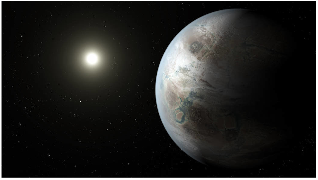 Kepler 452b earth-like planet