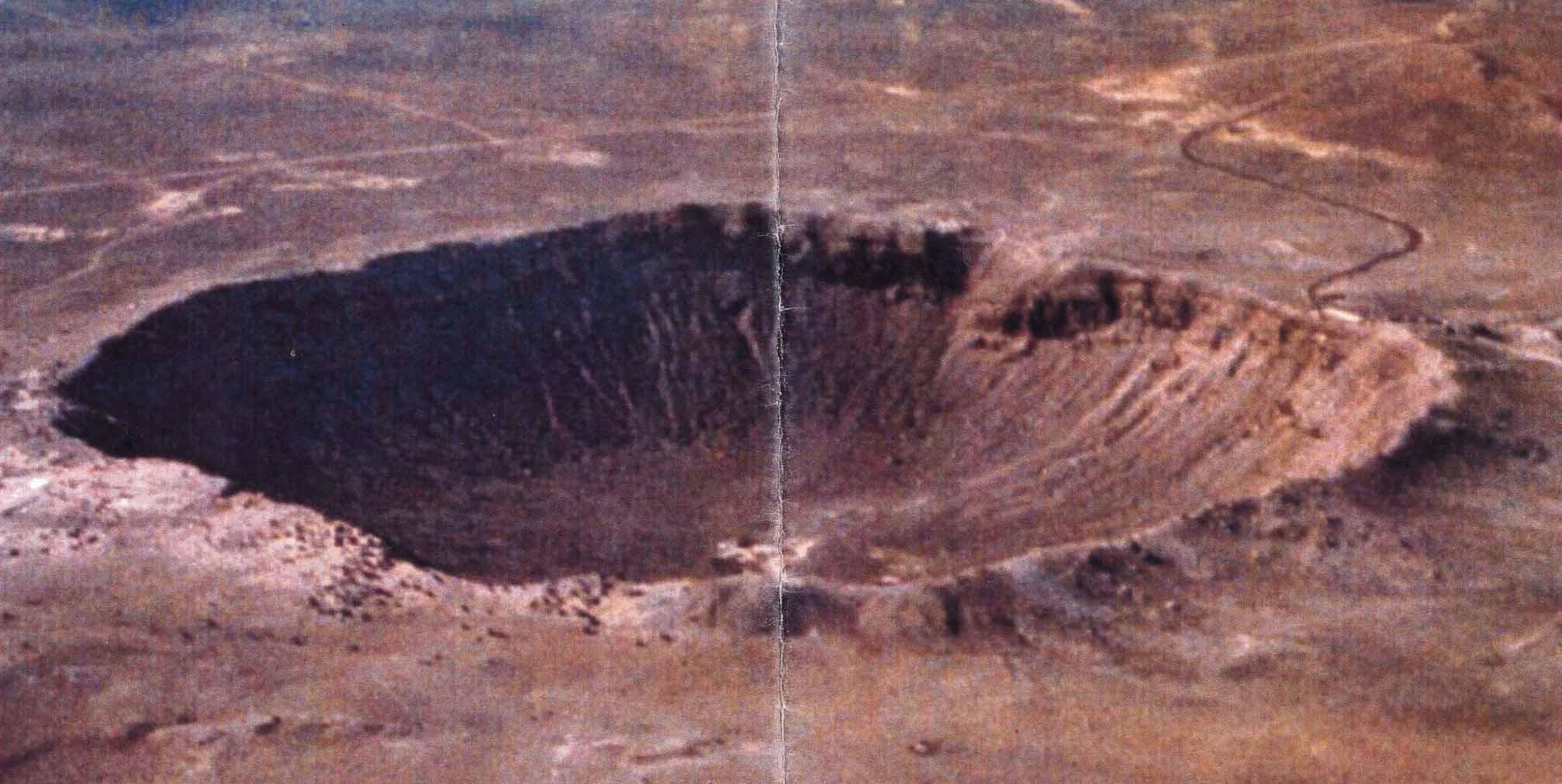 Фото следов от метеоритов 3